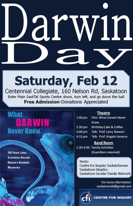Saskatoon Darwin Day